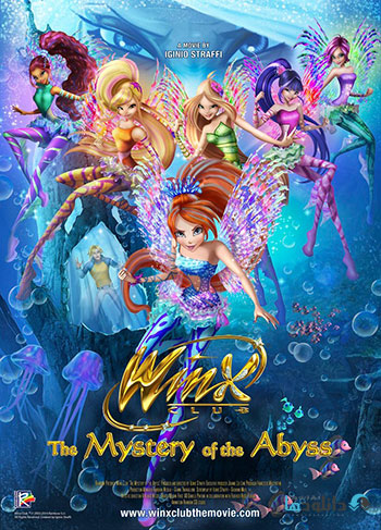 Winx Club The Mystery of the Abyss 2014 cover small دانلود انیمیشن Winx Club The Mystery of the Abyss 2014