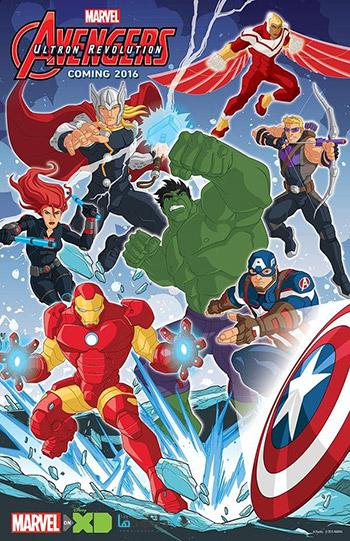 Avengers Ultron Revolution series 2016 cover دانلود فصل سوم انیمیشن Marvels Avengers Ultron Revolution 2016