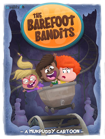 دانلود فصل اول انیمیشن The Barefoot Bandits Season 1 2015