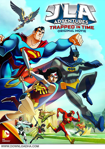 JLA Adventures Trapped in time cover small دانلود انیمیشن JLA Adventures Trapped in Time 2014