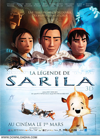 The Legend of Sarila cover small دانلود دوبله فارسی انیمیشن افسانه ساریلا   The Legend of Sarila 2013
