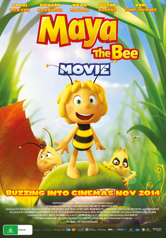 Maya the Bee Movie 2014 cover small دانلود انیمیشن سینمایی نیک و نیکو Maya the Bee Movie 2014