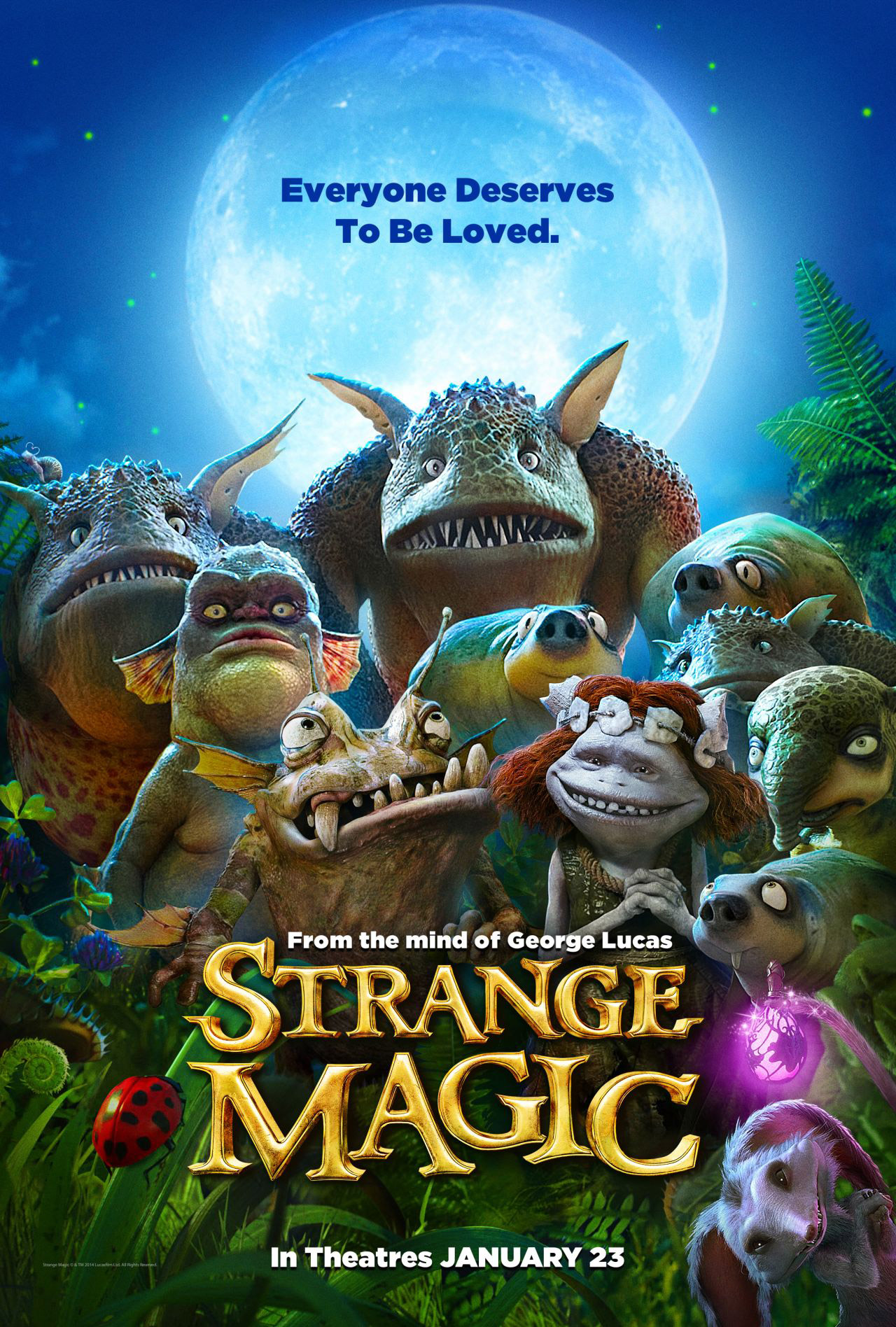 Strange Magic 2015 cover small دانلود انیمیشن Strange Magic 2015
