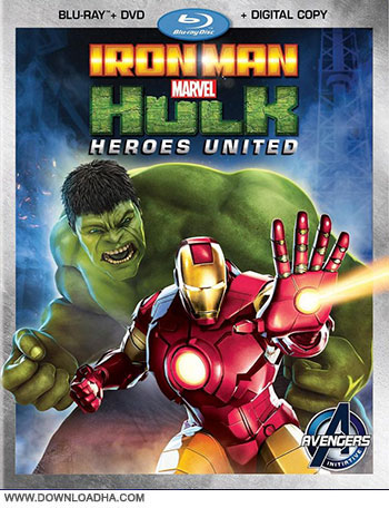 Heroes United 2013 cover small دانلود انیمیشن Iron Man and Hulk: Heroes United 2013