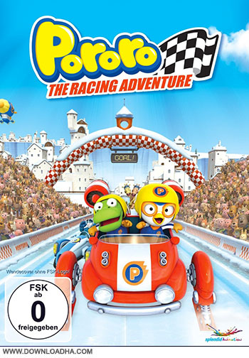 Pororo The Racing Adventures cover small دانلود انیمیشن Pororo, the Racing Adventure 2013