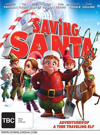 Saving Santa 2013 cover دانلود انیمیشن نجات بابانوئل   Saving Santa 2013