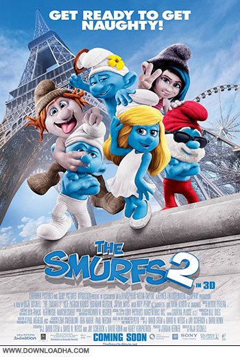 The Smurfs 2 cover small دانلود انیمیشن اسمورف ها 2   The Smurfs 2 2013