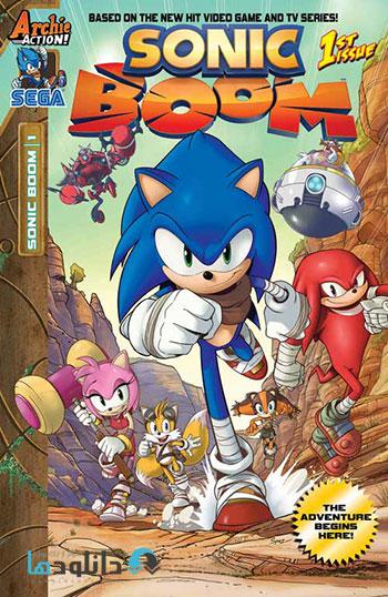 Sonic Boom cover دانلود فصل اول انیمیشن Sonic Boom Season 1 2014