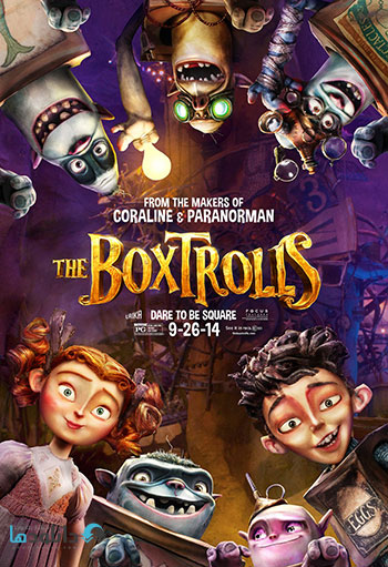 The Boxtrolls 2014 cover small دانلود انیمیشن The Boxtrolls 2014