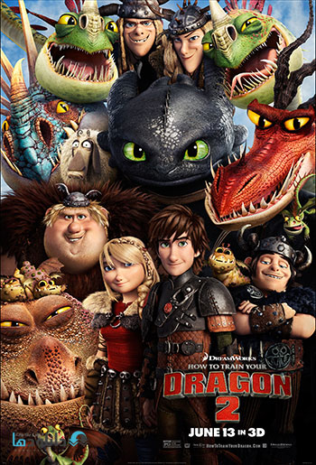 How to Train Your Dragon 2 cover small  دانلود انیمیشن مربی اژدها 2 – How to Train Your Dragon 2