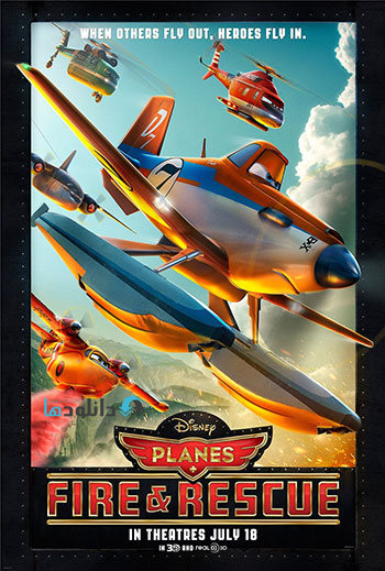 Planes Fire and Rescue cover small دانلود انیمیشن Planes Fire and Rescue 2014