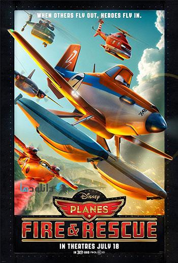 دانلود انیمیشن Planes Fire and Rescue 2014