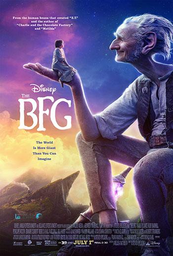 The BFG 2016 cover small دانلود انیمیشن سینمایی بی.اف.جی The BFG 2016