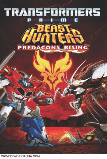 Beast hunters predacons rising cover دانلود انیمیشن Transformers Prime Beast Hunters: Predacons Rising 2013