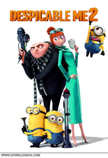 Despicable me 2 dvd cover small دانلود انیمیشن Despicable Me 2 2013