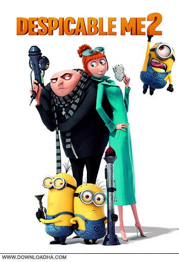 Despicable me 2 dvd cover small دانلود دوبله فارسی انیمیشن من شرور 2   Despicable Me 2 2013