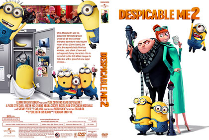 Despicable me 2 dvd print small دانلود انیمیشن Despicable Me 2 2013