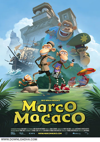 Marco Macaco cover دانلود دوبله فارسی انیمیشن مارکو ماکاکو   Marco Macaco 2012