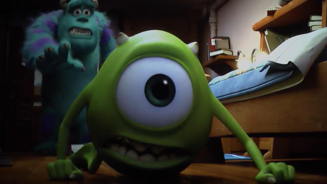Monsters University screens 01 دانلود دوبله فارسی انیمیشن دانشگاه هیولاها   Monsters University 2013