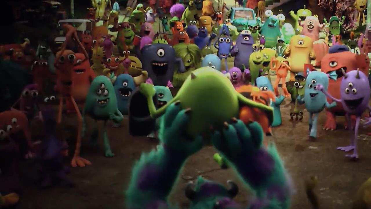 Monsters University screens 03 دانلود دوبله فارسی انیمیشن دانشگاه هیولاها   Monsters University 2013