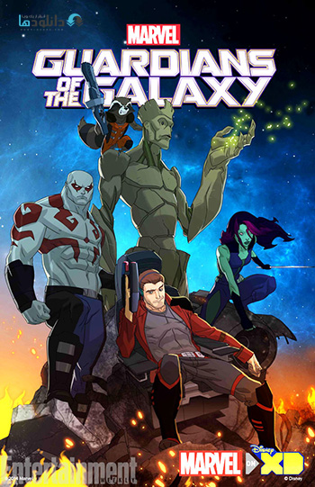 MARVEL Guardians of the Galaxy 2015 season 1 cover small دانلود فصل اول انیمیشن نگهبانان کهکشان – Guardians of the Galaxy Season 1 2015