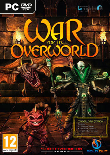 War for the Overworld pc cover دانلود بازی War for the Overworld برای PC