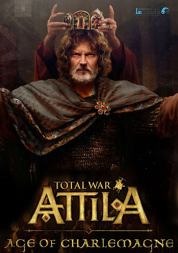 Total War ATTILA Age of Charlemagne pc cover دانلود بازی Total War ATTILA Age of Charlemagne Campaign Pack برای PC