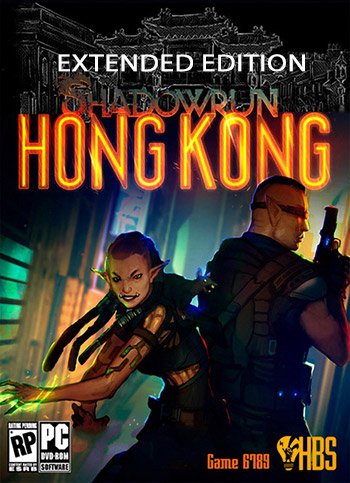 Shadowrun Hong Kong Extended Edition pc cover دانلود <a style=