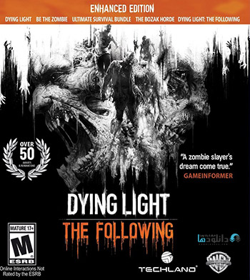 Dying Light The Following Enhanced Edition pc cover small دانلود بازی Dying Light The Following Enhanced Edition برای PC