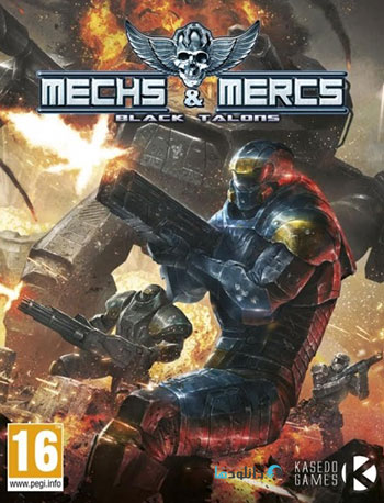 Mechs and Mercs Black Talons pc cover دانلود بازی Mechs and Mercs Black Talons برای PC
