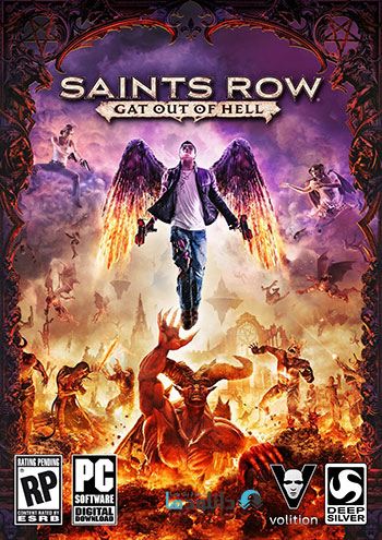 Saints Row Gat out of Hell pc cover small دانلود بازی Saints Row Gat out of Hell برای PC