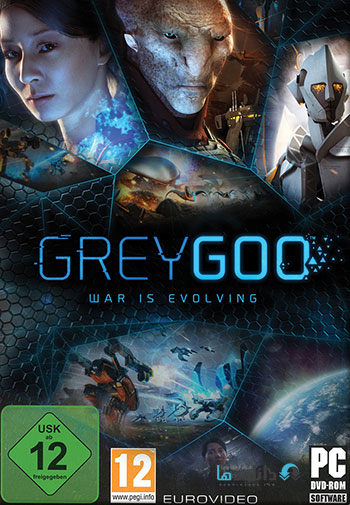 Grey Goo pc cover small دانلود بازی Grey Goo برای PC