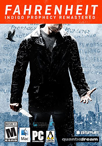 Fahrenheit Indigo Prophecy Remastered pc cover دانلود بازی Fahrenheit Indigo Prophecy Remastered برای PC