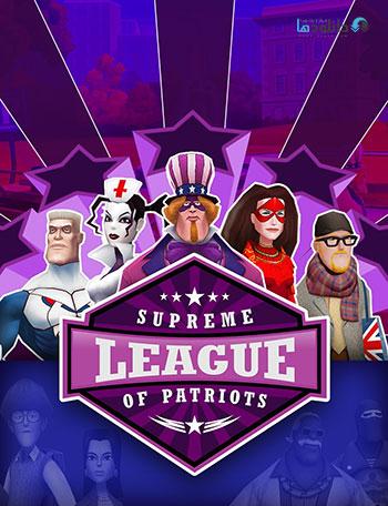 Supreme League of Patriots pc cover small دانلود بازی Supreme League of Patriots برای PC