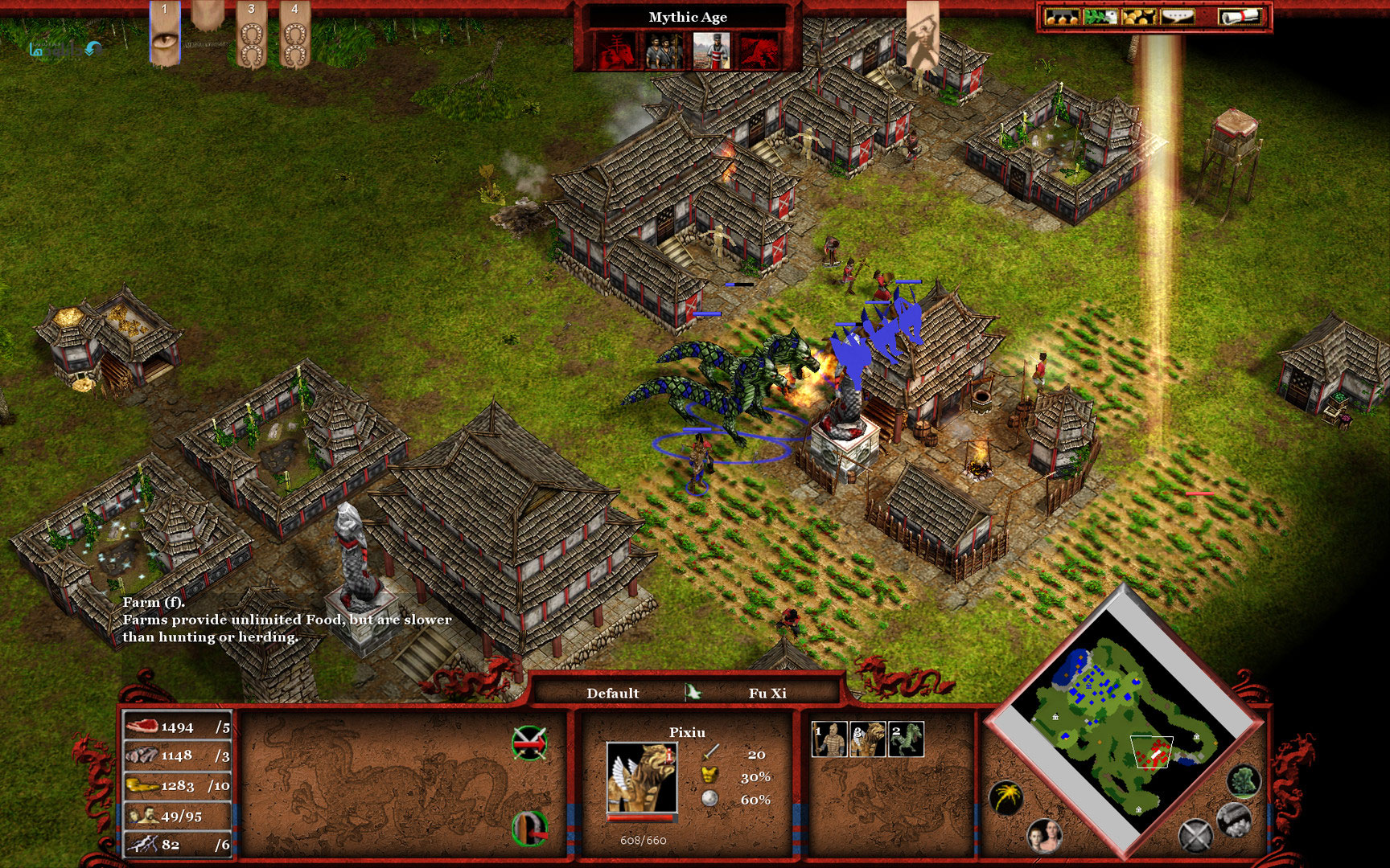 WatFile.com Download Free Age of Mythology Extended Edition Tale of a Dragon screenshots 01 tiny