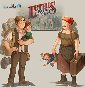 Lethis Path of Progress screenshots pc cover small دانلود بازی Lethis Path of Progress برای PC