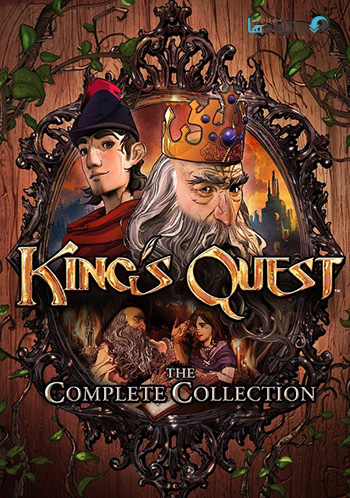 Kings Quest Chapter 1 pc cover دانلود بازی Kings Quest Chapter 1 برای PC