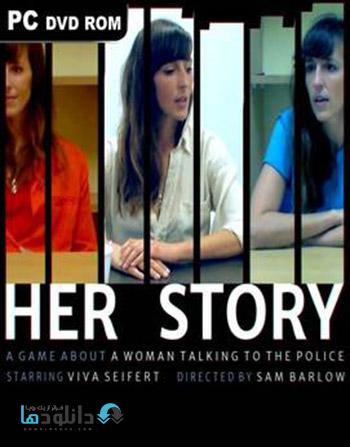Her Story pc cover دانلود بازی Her Story برای PC