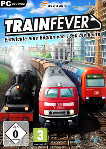 Train Fever pc cover small دانلود بازی Train Fever USA برای PC