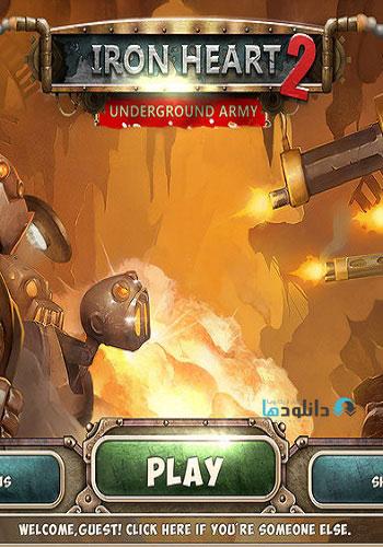 Iron Heart 2 pc cover دانلود بازی Iron Heart 2 Underground Army برای PC