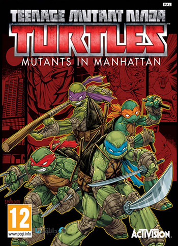 Teenage Mutant Ninja Turtles Mutants in Manhattan pc cover دانلود بازی Teenage Mutant Ninja Turtles Mutants in Manhattan برای PC