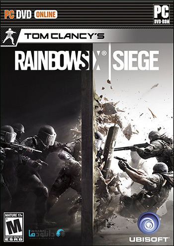 Tom Clancys Rainbow Six Siege pc cover small دانلود بازی Tom Clancys Rainbow Six Siege برای PC