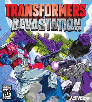 Transformers Devastation pc cover دانلود بازی Transformers Devastation برای PC