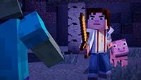 Minecraft Story Mode screenshots 02 small دانلود بازی Minecraft Story Mode Episode 1 برای PC