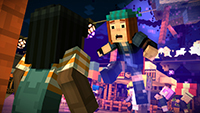Minecraft Story Mode screenshots 04 small دانلود بازی Minecraft Story Mode Episode 1 برای PC