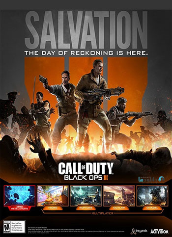 Call of Duty Black Ops 3 Salvation DLC pc cover دانلود بسته الحاقي Call of Duty Black Ops III Salvation DLC براي PC