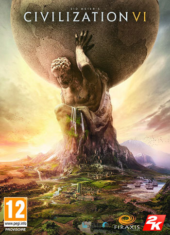 Sid Meiers Civilization VI pc cover دانلود بازی Sid Meiers Civilization VI برای PC