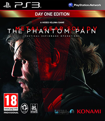 Metal Gear Solid V The Phantom Pain ps3 cover small دانلود بازی Metal Gear Solid V The Phantom Pain برای PS3