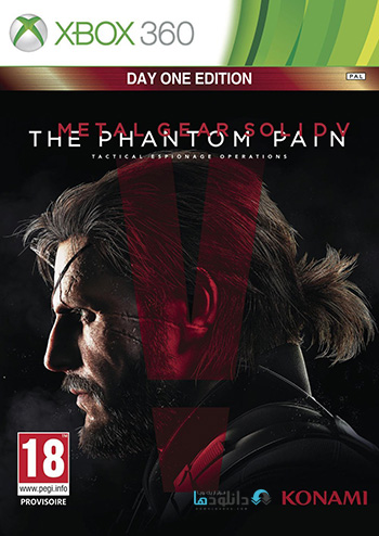 Metal Gear Solid V The Phantom Pain xbox360 cover small دانلود بازی Metal Gear Solid V The Phantom Pain برای XBOX360