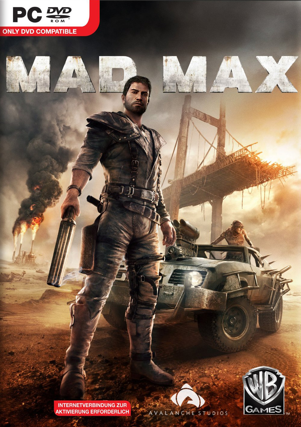 Mad Max pc cover small دانلود بازی Mad Max برای PC